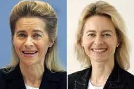 She was initially seen as a possible successor to german chancellor angela merkel. Von Der Leyen Uberrascht Mit Frischer Frisur Augsburger Allgemeine