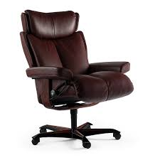 Comfortable office chairs Small Lifestyles Furniture Stressless Magic Office Chair