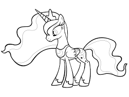 Kleurplaten My Little Pony Princess Cadence
