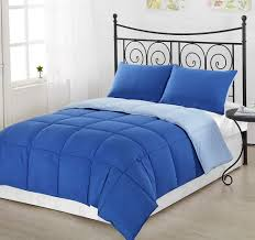 royal blue and white duvet cover