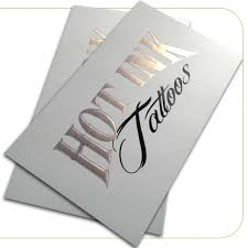 Cold Foil Business Cards