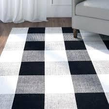 buffalo checd rug new check outdoor hand woven black ivory area indoor rugs buffalo check rug