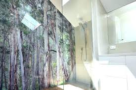 bathroom wall panels uk bathroom wall panels glass printed glass shower wall panel waterproof bathroom wall