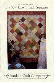 It's Sew Easy Patterns Extraordinary It's Sew Easy 448 Inch SquaresTable Runner And Quilt Pattern 48