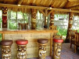 home tiki bar outdoor accessories hardware ideas