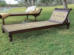 american colonial homes brandon inge: antique british colonial rosewood and cane daybed chaise lounge
