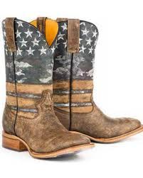 Tin Haul Mens Freedom Western Boots