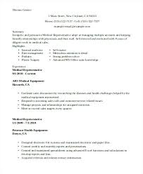 Sales Manager Resume Examples Best Of Medical Device Sales Resume