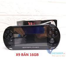Máy Chơi Game Cầm Tay đa năng PSP X9 và X12(MÀU ĐEN) BẢN 8GB VÀ 16GB
