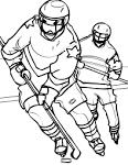 Игра хоккей раскраски
