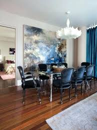 navy blue dining rooms. Traditional Dining Room Design: Astonishing X Based Table With Navy Blue Chairs Transitional At Rooms
