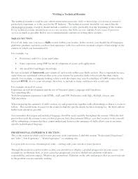 Resume Technical Skills Examples Examples Of Skills For Resume ...