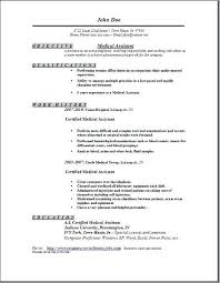Physician Assistant Resume Examples Fascinating Examples Of Medical Assistant Resume Medical Assistant Resume