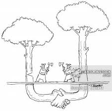 cutting down trees cartoons and comics funny pictures from
