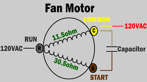 ac fan not working how to troubleshoot and repair condenser fan Run Capacitor Wiring Diagram Air Conditioner ac fan not working how to troubleshoot and repair condenser fan motor trane air condition Central Air Conditioner Wiring Diagram