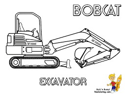 Small Picture Macho Coloring Pages Of Tractors Construction Free