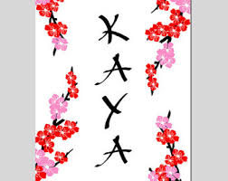 cherry blossom decor etsy