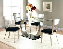 metal dining room tables black glass top dining table modern glass dining room tables glass top