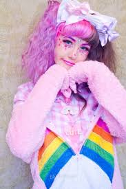 blushpastel when you try to be a care bear insram