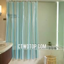 teal striped shower curtain. teal striped shower curtain w