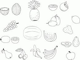 Fruits Coloring Pages Pdf Fresh Fruit Coloring Pages For Adults
