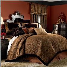 chris madden palme chenille comforter bedding queen new