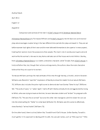 comparison and contrast of the men in a dolls house and a streetcar d desire jpg cb  essay on cow pdf writer