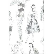 Fashion Illustration Template Book