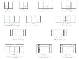 sliding door sizes standard size glass doors designs pella w