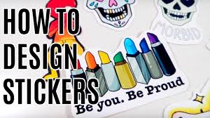 Redbubble Design Your Own Sticker How To Design Stickers And Merch Diy Stickers And Redbubble Tutorial