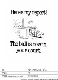 Present Your Next Report Accompanied By This Funny Fax Cover Sheet