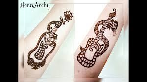 Automatic Mehndi Design Machine Guitar Henna Tattoos Girls