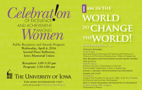 Invitation Celebration Of Excellence And Achievement Among Women