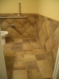 Tile In Bathroom Tiled Waincoating Bathroom Tile Wainscoting Bathroom Ideas For