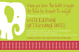 white elephant gift invitation. Beautiful Elephant Valid Of Invitation White Elephant Christmas Party Invitations Templates  Inspirational In Gift L