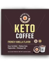This super creamy coffee beverage is delicious hot or iced. Amazon Com Rapidfire French Vanilla Ketogenic High Performance Keto Coffee Pods Supports Energy Metabolism Weight Loss 16 Single Serve K Cup Pods Brown French Vanilla 16 0 Count Health Personal Care
