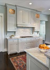 painted gray kitchen cabinetsMost Popular Cabinet Paint Colors
