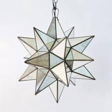 star pendant lighting. New Glass Star Pendant Light 63 On 3 Bulb Ceiling With Lighting M