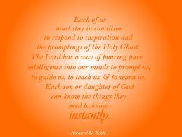 Quotes About The Holy Spirit Stunning Cool LDS Quotes About The Holy Ghost LatterDay Mommy