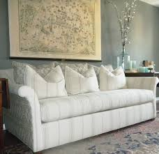 extra long leather sofa. Gray Upholstered Extra Long Couch Leather Sofa