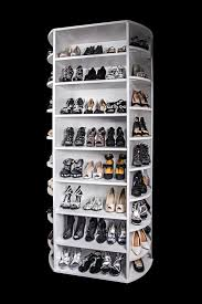 four sided rotating shoe rack by lazy lee