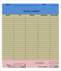 Printable Fax Log Template