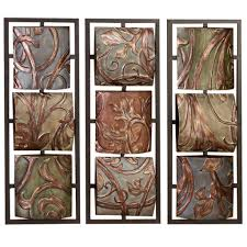 fabulous interior wall room decorative wall hanging display pict for leaves wall artwork wrought iron wall