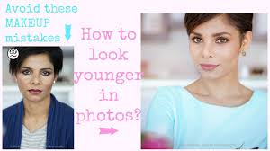 how to look younger in photos makeup for photography
