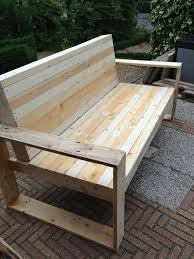 diy wooden garden furniture. garden furniture from pallets wooden bench itself building diy
