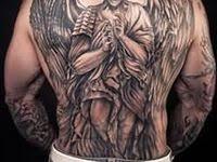 idei: лучшие изображения (7) | Мозг тату, Синяя татуировка и ...
