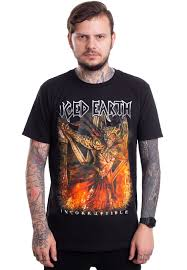 <b>Iced Earth</b> - <b>Incorruptible</b> - T-Shirt - Official True Metal Merchandise ...