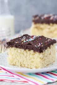 Moist Yellow Cake Recipe Better Than Cake Mix Beyond Frosting