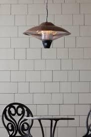 hanging patio heater. Fire Sense 60660 Hanging Halogen Patio Heater Review E