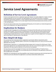 help desk service level agreement template 8 training service level agreement template purchase agreement
